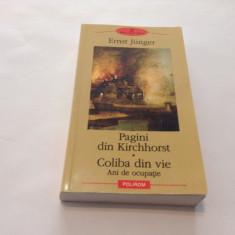 ERNST JUNGER -PAGINI DIN KIRCHHORST/COLIBA DIN VIE,RF10/1
