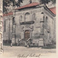 ALBA IULIA, SALUTARI DIN ALBA IULIA, INTRAREA LATERALA, CLASICA CIRC.1903 - Carte Postala Transilvania pana la 1904, Circulata, Printata