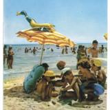 7479 - Romania ( 517 ) - Constanta, EFORIE - postcard - used - 1965, Circulata, Printata