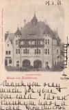 SIGHISOARA , CASA DE COMERT ,  CAFE MARTINI , CLASICA , CIRCULATA  1901, Printata