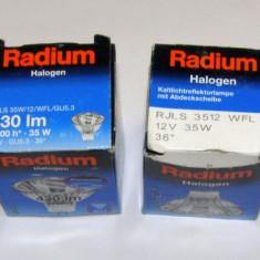 Set 4 becuri halogen 12V 35W montaj GU5.3(056), Becuri cu halogen