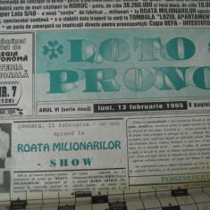 Loto-Prono (13 februarie 1995) - ziar