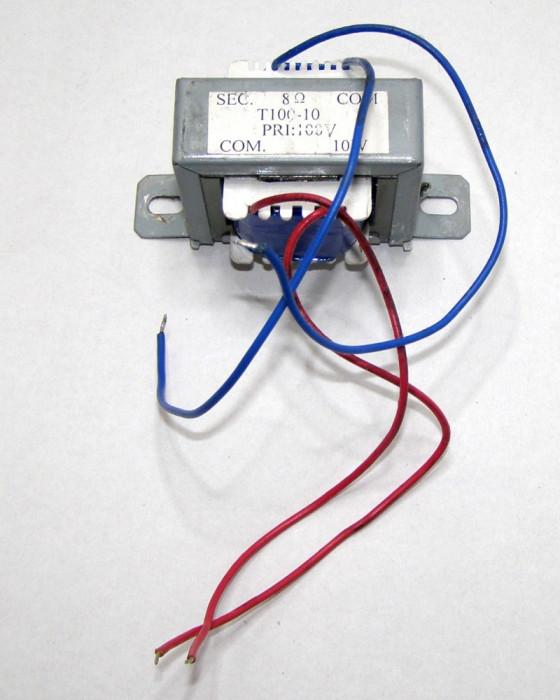 Transformator boxa ambiental 100 v 10W 8ohm(916)
