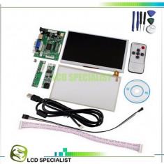 Monitor display tft lcd 7 inch module keyboard touch Raspberry hdmi vga rca - Monitor touchscreen