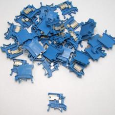 Lot blocuri conexiune ( reglete) 2.5mm cu montaj sina 35mm(751)