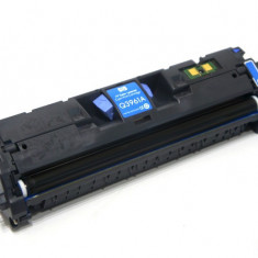 Cartus original second hand Cyan Q3961A HP 122A (Q3961A) HP Color LaserJet 2550L / 2550Ln / 2550n / 2820 / 2840 toner 91%