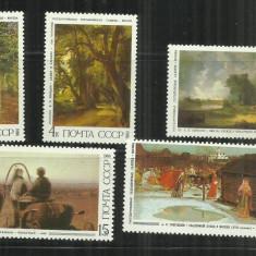 P 52 - PICTURA - URSS - SERIE NESTAMPILATA - Timbre straine