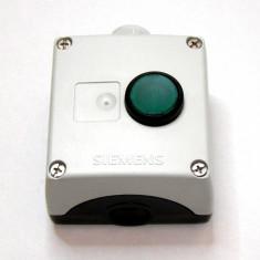 Push buton NO Siemens cu carcasa(520) - Comutator