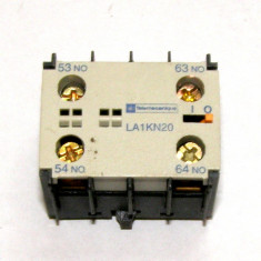 Contact auxiliar Telemecanique LA1KN20 2 contacte 2 NO(616)