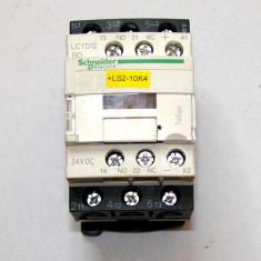 Contactor Schneider LC1D12 W/LAD4TBL actionare 24 Vdc(577) - Comutator