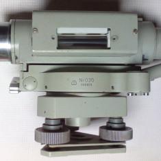 TEODOLIT CARL ZEISS JENA Ni 030 NIVELA luneta telescop - Microscop