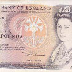 Bancnota Anglia 10 Pounds (1984-86) - P379c VF