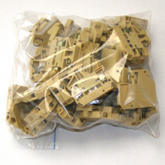 Lot terminal de test 4mm Weidmuller SAKR conexiune montaj sina tip G(092)