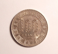 GABON 100 FRANCI 1975 -UNC foto
