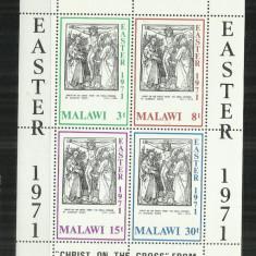 P 6 - PICTURA - MALAWI - BLOC NESTAMPILAT - Timbre straine