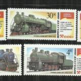 LOC  27  -  LOCOMOTIVE    -  URSS  -   SERIE  NESTAMPILATA