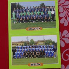 Cartonas / Sticker fotbal echipa Atalanta si Brescia - Calciatori 2014-2015 ! - Cartonas de colectie