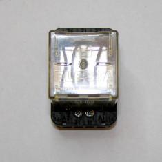 Releu Elesta montaj sina 35mm 3 contacte 10A 220 V cu actionare 24 Vdc(487)