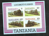 LOC 17 -  LOCOMOTIVE    -  TANZANIA  -  COLITA  NESTAMPILATA, Nestampilat