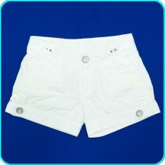 DE FIRMA _ Pantaloni scurti, panza de bumbac, calitate ZARA _ fete | 7 - 8 | 128, Marime: Alta, Culoare: Alb