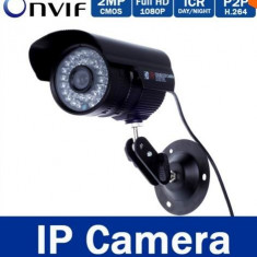 Camera ip 1080p 36 leduri full hd h264 2MP bullet ir cut onvif carcasa aluminiu