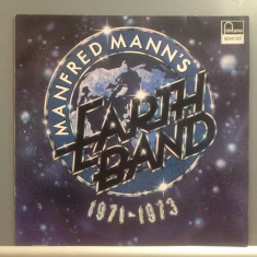 MANFRED MANN'S EARTH BAND - 1971-1973 (1973/ FONTANA/RFG) - Vinil/ROCK/Impecabil, universal records