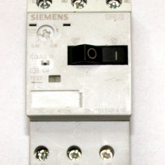 Intrerupator motor Siemens 3RV1011-0FA10 012kW 220&divide690VAC(630)