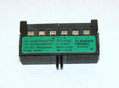Redresor pentru infranare motor Flender Himmel 976292(282) foto