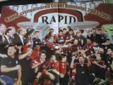 Rapid Bucuresti - campioana 2001-2002 - poster