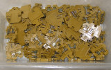 Lot blocuri conexiune cu montaj sina G Weidmuller SAK 2.5 mm(098)