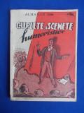 CUPLETE SI SCENETE HUMORISTICE * ALMANAH 1950 ( COPERTA NELL COBAR )