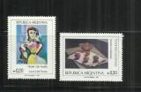 P 34 -  PICTURA   -  ARGENTINA  -  SERIE  NESTAMPILATA, Nestampilat