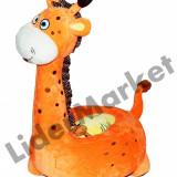 Girafa fotoliu din plus copii - Fotoliu copii
