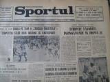 Ziarul SPORTUL(20mai1973)-Cuplaj Dinamo-Rapid si Sportul-Steaua, U Cluj-CFR Cluj