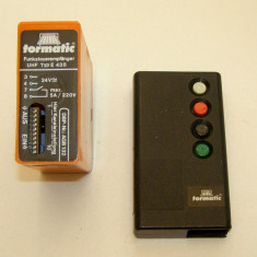 Receiver radio Tormatic Dorma E43-B - 433Mhz(251)