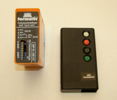 Receiver radio Tormatic Dorma E43-B - 433Mhz(251) foto