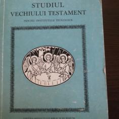 STUDIUL VECHIULUI TESTAMENT * Manual teologic - editia a doua, 1985, 452 p.