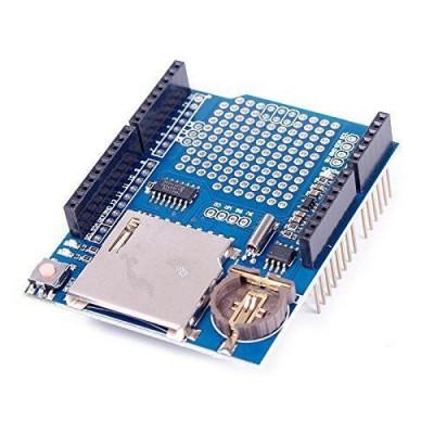 modul shield inregistrare date data logger pentru arduino foto
