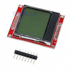 Ecran display lcd nokia 5110 84X84 Backlight arduino avr stm pic