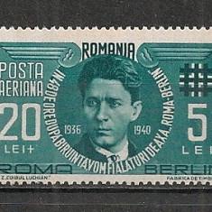 Romania.1940 Codreanu-Posta aeriana AX.51 - Timbre Romania, Nestampilat