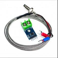 Senzor de temperatura MAX6675 cu sonda arduino avr stm pic