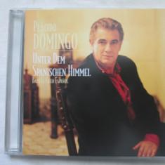 Placido Domingo – Bajo El Cielo Español   CD,SUA, sony music