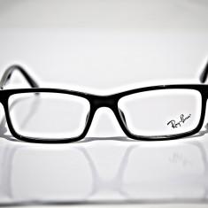 Rame de ochelari de vedere Ray Ban RB 8901 2000 - Rama ochelari Ray Ban, Barbati, Negru, Dreptunghiulare, Plastic, Rama intreaga