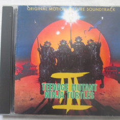 Various ‎– Teenage Mutant Ninja Turtles III CD, SUA - Muzica soundtrack Altele