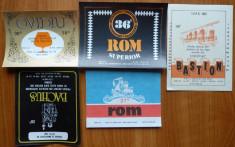 5 etichete comuniste de bautiri alcoolice , diferite , 7 foto