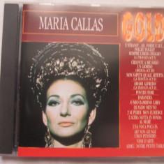 Maria Callas – Gold CD, Olanda - Muzica Opera Altele
