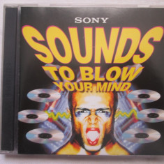 Various - Sounds To Blow Your Mind CD, UK - Muzica Pop sony music