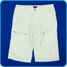 DE FIRMA _ Pantaloni scurti, foarte frumosi, bumbac de calitate H&M _ marimea 34 - Pantaloni barbati, Culoare: Bej