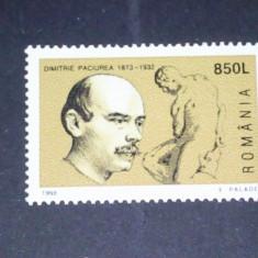Romania 1998-LP 1470-125 ani de la nasterea D.Paciurea, nestampilate - Timbre Romania