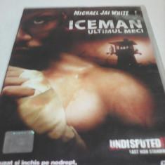 FILM UNDISPUTED II -ICEMAN ULTIMUL MECI, SUBTITRARE ROMANA, ORIGINAL - Film thriller, DVD